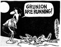 """Grunion Are Running"" by John Lara, Laguna Independent (120kb)"